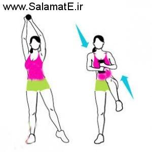با کوچک تر کردن شکم و پهلوهایتان از این روش ها استفاده کنید