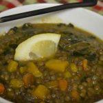 سوپ-سریع-عدس-کدو-حلوایی
