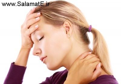 گردن شما سفت شده است: